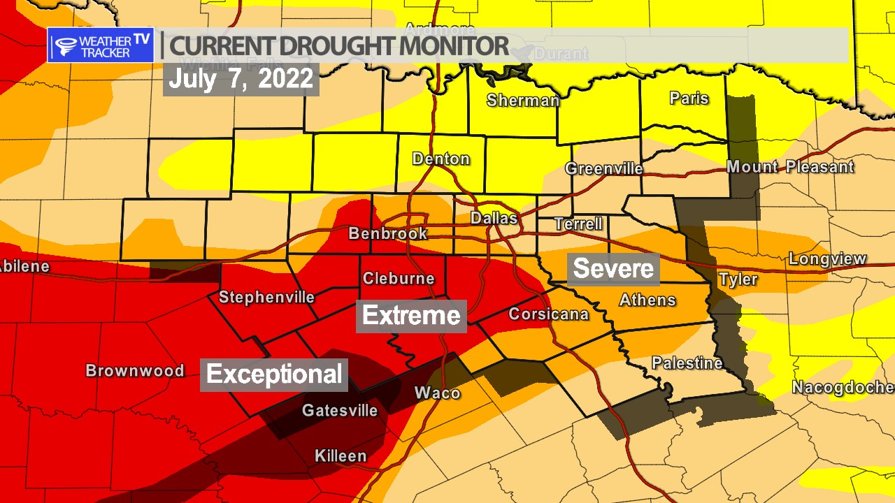 North Texas Drought Monitor